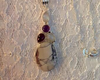 Jasper Multi Gemstone Necklace