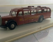 Vintage Brekina Merceces Bus Model 0500.  Made In Germany in Plastic Display Box.  1/87 Scale HO