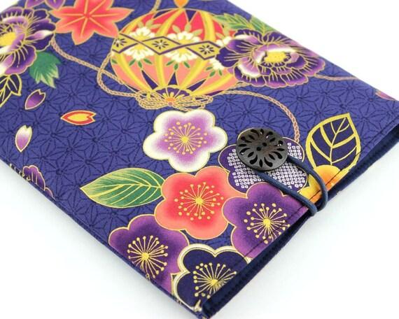 Kindle Sleeve - Samsung Galaxy Case -  Padded Tablet case - Mari-Ball Dark Purple