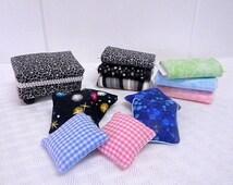 Ottoman fabric bolts and pillows dollhouse miniatures retiring sale DESTASH 1/12 scale all handmade