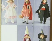 Simplicity 2571 Costume Little Bo Peep Red Riding Hood Dracula Wizard Sizes 1/2, 1, 2, 3, 4, UNCUT