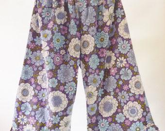 Ladies Floral Bloomer Pants