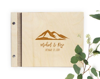 Mountains Are Calling Guest Book
