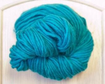 Yak Wool Yarn in Turquoise