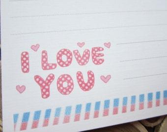 LONG letter / I love you