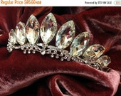 Bridal headband, Bridal tiara, Crystal headband, bridal hair jewelry, crystal tiara, Wedding accessory