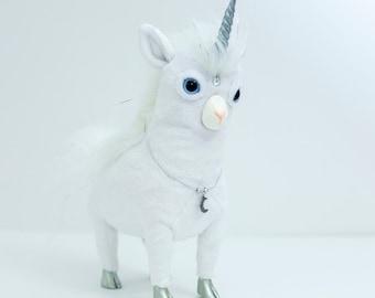 """Yeticorn Doll """"Silver Snarfer"""""""
