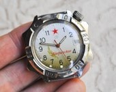 Working Watch. Vintage Russian wrist watch Wostok-Generalskie.