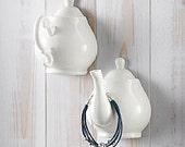 Teapot Hooks -Handle & Spout