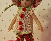 "Spring Garden for NEW TINY [6.5""] Riley Kish by JDL Doll Clothes"