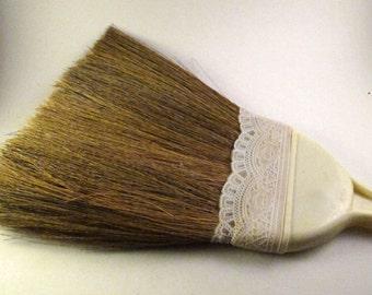 Vintage Straw Broom Etsy