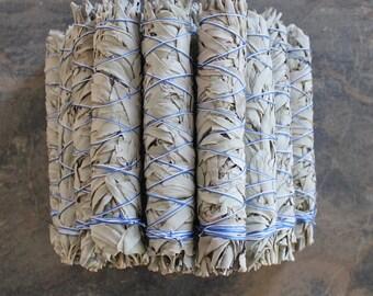 One Large White Sage Bundle, California White Sage Stick, Sage Smudge Wand, Sage Smudge Bundle, Ceremonial Sage, Sacred Plant Smoke