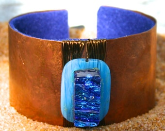blue wahoo (cuff)