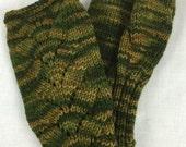 100% Merino Wool Fingerless Gloves, 105