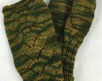 100% Merino Wool Fingerless Gloves, 105