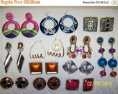 20 OFF EVERYTHING Vintage Jewelry (Lot 49). Big and Bold X.