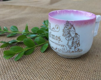 Sale: Child's Merry Christmas china cup