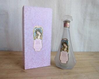 Antique Bottles, Perfume Bottles, 1900s Bacor Bay Rum Bottle and Box, 4oz Skin Glo Creme