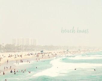 California Beach Art, California Beach, Beach Bums, Beach Gift, Beach Photography, Beach Prints, Beach Art, Beach Lovers, Beach Photo
