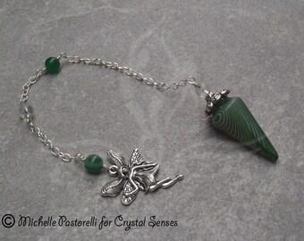 Fairy Agate Dowsing Pendulum (DP0303)