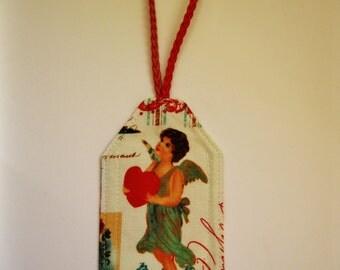 Luggage I.D. Tag - Angel Heart