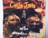 Vintage CIRCLE JERKS 1995 TOUR T-Shirt xl 90s