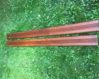 Rreclaimed wood trim • Antique wood molding