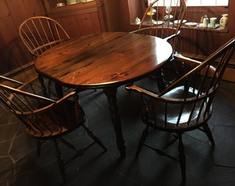 Set of 4 Frederick Duckloe Chairs