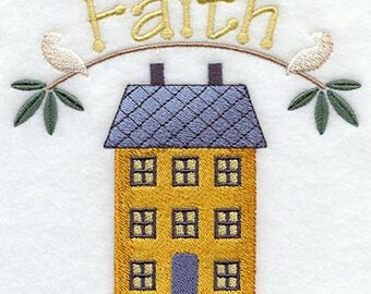Loving Home - Home of Faith - Fabric - Towels