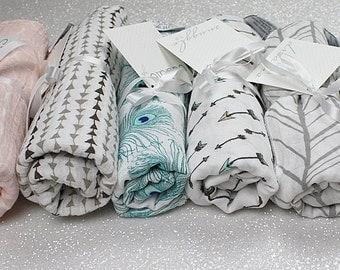 Swaddle blanket, wrap blanket, double gauze, newborn, swaddling blanket, muslin, newborn photography prop, baby blanket, baby girl, baby boy
