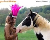 Sale Pink Festival Feather Headband