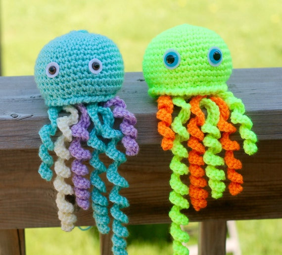 Amigurumi Jelly Belly Pattern - Crochet Jelly Fish Pattern