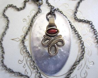 Vintage Spoon Necklace 04093