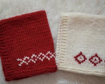 SALE - Newborn Baby Blanket, Christmas Blanket, Photo Prop