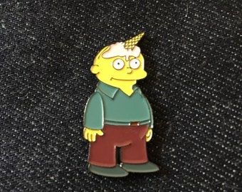 Raplh wiggum unicone the simpsons enamel pin hat pin lapel pin unicorn