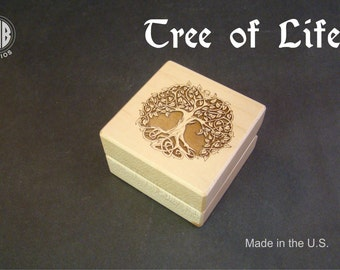 Celtic Tree of Life.  Free shipping and engraving  RB90