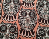 A La Carte Sale Choose Pads/Liners/Overnights or Fabric for your own project Coral Henna Owls