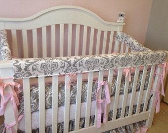 Crib Guards -- 3pc Custom Crib Rail Teething Guards for Baby/Toddler