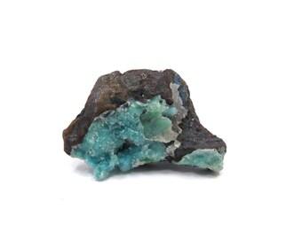 Chrysocolla Druzy Specimen 1 Raw Crystal 31mm x 20mm x 17mm Natural Rough Stone (Lot 9699) Mineral Specimen