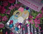 SALE! iPhone 5/5s Princess Cinderella Snow White Disney Kawaii Decoden Phone Case