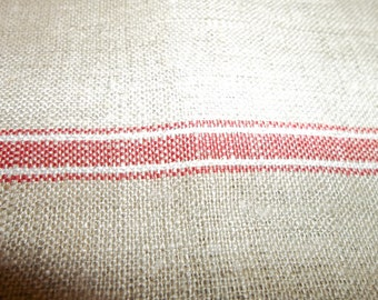"Vintage Linen Towel MANGLECLOTH Yardage..Great Quality... Texture...Brand New...French Kitchen...35""by 116"" Free Shipping"