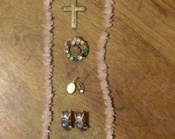 Vintage Jewelry Lot of 7 pcs