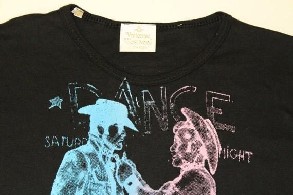 Majica Vivienne Westwood Seditionaries Goli kavboji-5044