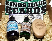 BEARDY BOX, Gift Sets, Gifts For Him, All Natural Beard Oil and Beard Wash, Made in Ireland, BBOX