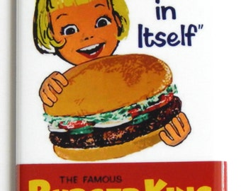 Burger King Whopper Fridge Magnet