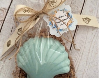 Beach, Ocean Theme, Sea Shell, Ocean Soap, Birthday,  Wedding or  Bridal Shower Favor