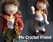 My Little Crochet Doll Crochet Pattern Downloadable PDF