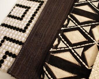 Fabric Samples - Designer Fabrics Neutral Tones - Destash  Lot Assorted