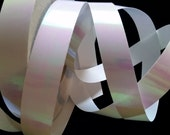 White Pearlescent Hula Hoop Tape - 40 Yard Roll