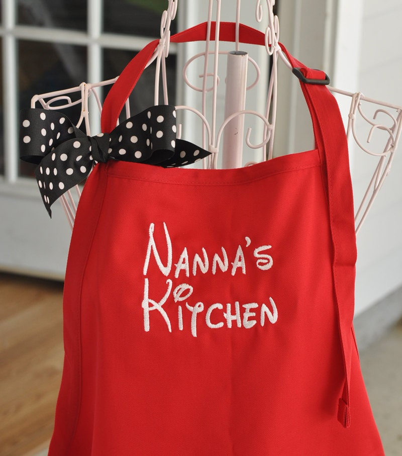 Monogrammed Aprons Personalized Aprons Chef Baking Apron